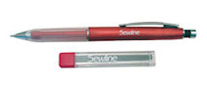 Sewline Mechanical Fabric Pencil, Pink
