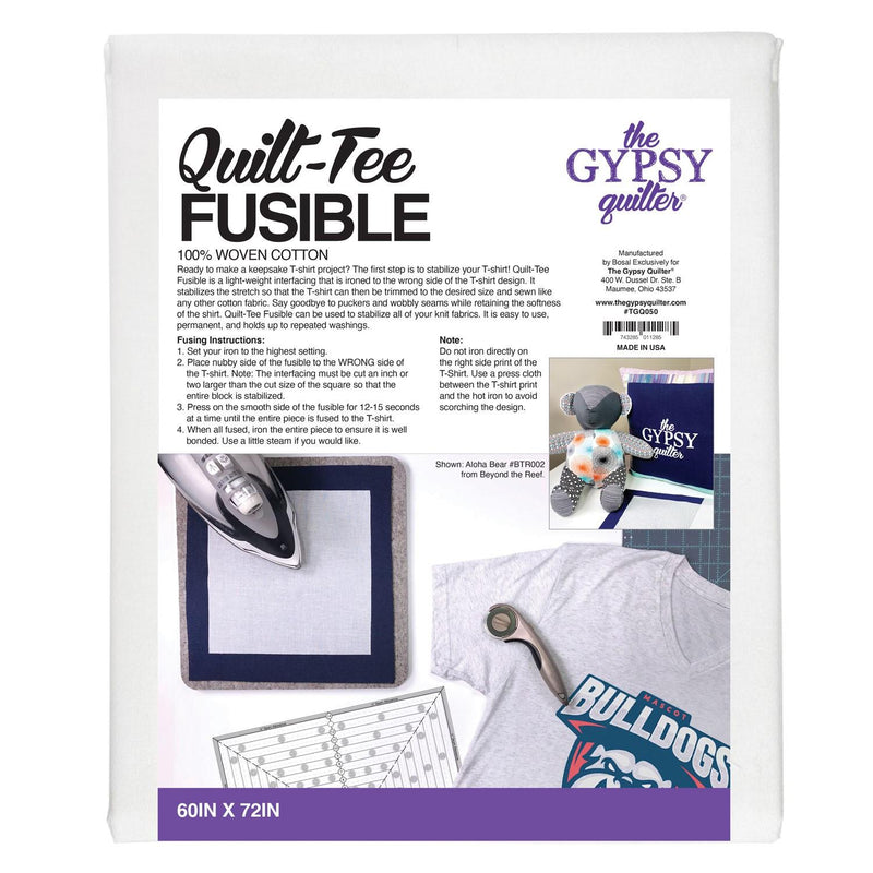 The Gypsy Quilter Quilt-tee Fusible