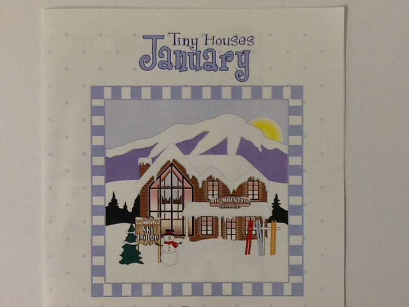 Tiny Houses Pattern - January