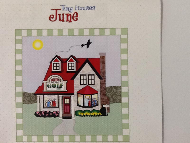 Tiny Houses Pattern - June