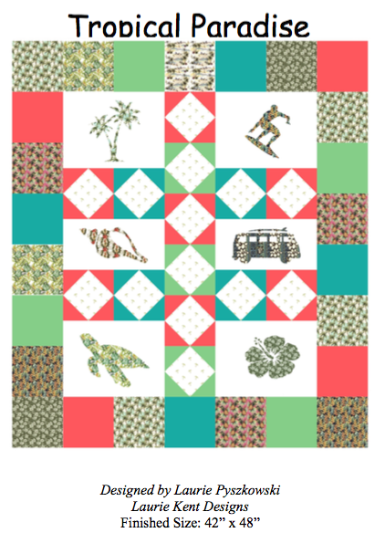 Tropical Paradise Quilt Pattern