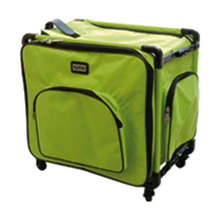 "Tutto 20"" Medium Sewing Machine Bag on Wheels (Lime)"