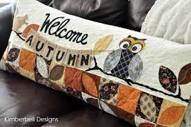 Welcome Autumn Bench Pillow Kit