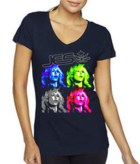 JES Pop Art Ladies T-Shirt