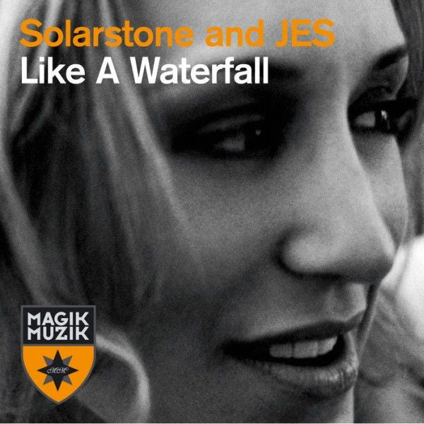 "Solarstone and JES ""Like A Waterfall"" Autographed CD Single"