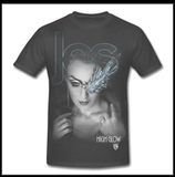 "JES ""High Glow"" Mens Foil Face T-shirt"