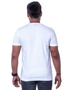 100% Cotton White Basic Round Neck T-Shirts - Bestfit Sportswear