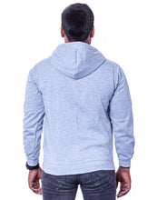 Load image into Gallery viewer, Light Grey Hoodie with Zipper - Bestfit Sportswear