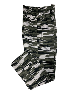 Camouflage/Military/Army Print Super Poly Lower Mens Track Pants for Sports & Nightwear - Bestfit Sportswear