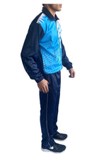 Load image into Gallery viewer, Sublimation Regular Fit Super Poly Men's Tracksuit for Sports | Training | Gym | Winterwear (Blue Design) - Bestfit Sportswear