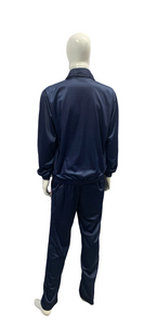 Sublimation Regular fit Unisex Super Poly Sports Navy blue Sports Tracksuit - Bestfit Sportswear
