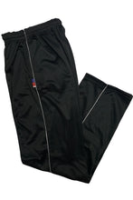 Load image into Gallery viewer, Black Super Poly Lower Mens Track Pants for Sports & Nightwear - Bestfit Sportswear