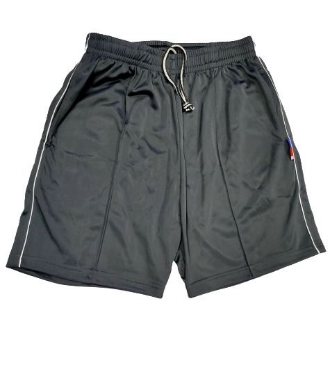 Super Poly Sports Shorts Dark Grey Colour - Bestfit Sportswear