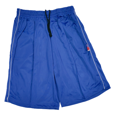 Super Poly Sports Shorts Royal Blue Colour - Bestfit Sportswear