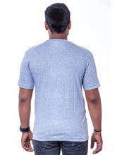 Load image into Gallery viewer, 100% Cotton Grey melange Round Neck T-Shirts - Bestfit Sportswear