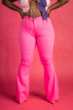 "Load image into Gallery viewer, ""Tilly""HIGH WAIST SUPER STRETCH DISCO BELL BOTTOM PANTS"