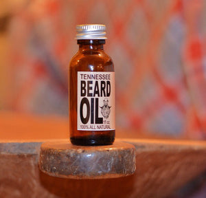 1 oz. Orange-Mint scented Beard Oil