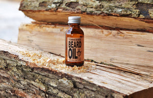 1 oz. Peppermint scented Beard Oil