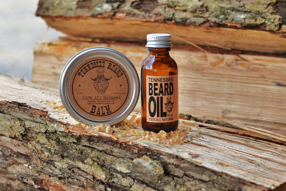 Copy of Copy of 2 oz Mint Scented Beard Balm & 1 oz Mint Beard Oil