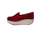 ZAPATO STEEM LAND ROJO