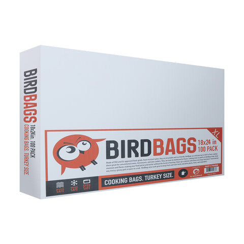 "BirdBags® Turkey Bag 18"" x 24"" (100/pk), Cooking Bags, - Applegate Soils & Hydroponics"
