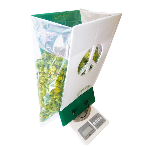 The Green Scissor® Weigh Simple Bag Stand, , - Applegate Soils & Hydroponics