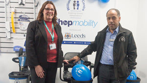 Ross Care support William Merritt Centre with new Shopmobility Service