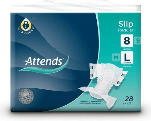 Attends Incontinence Pads - Fitting Guides