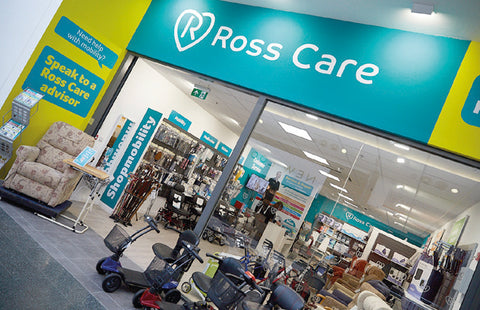 Ross Care Leeds White Rose Port Mobility Shop