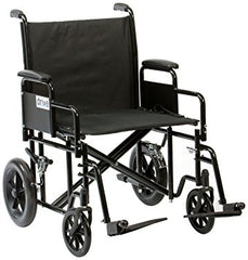 Drive DeVilbiss Healthcare Heavy Duty Steel Transport Chair