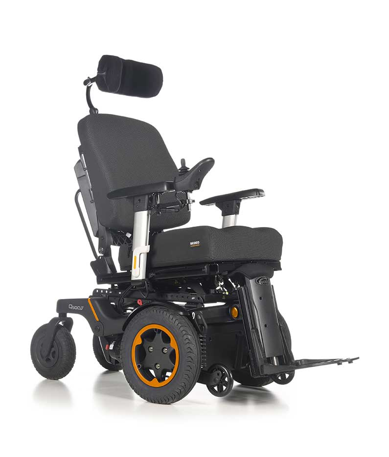 Q500 F Sedeo Pro Front-Wheel Powered Wheelchair