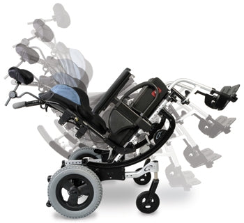 Quickie IRIS Tilt-In-Space Wheelchair