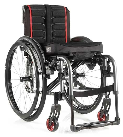 Quickie Lightweight Life F Wheelchair