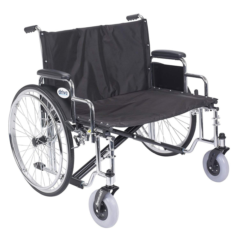 "Drive Heavy Duty Sentra EC Self-Propelled Wheelchair - 30"" Seat Width"