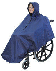 Wheelchair Poncho Blue