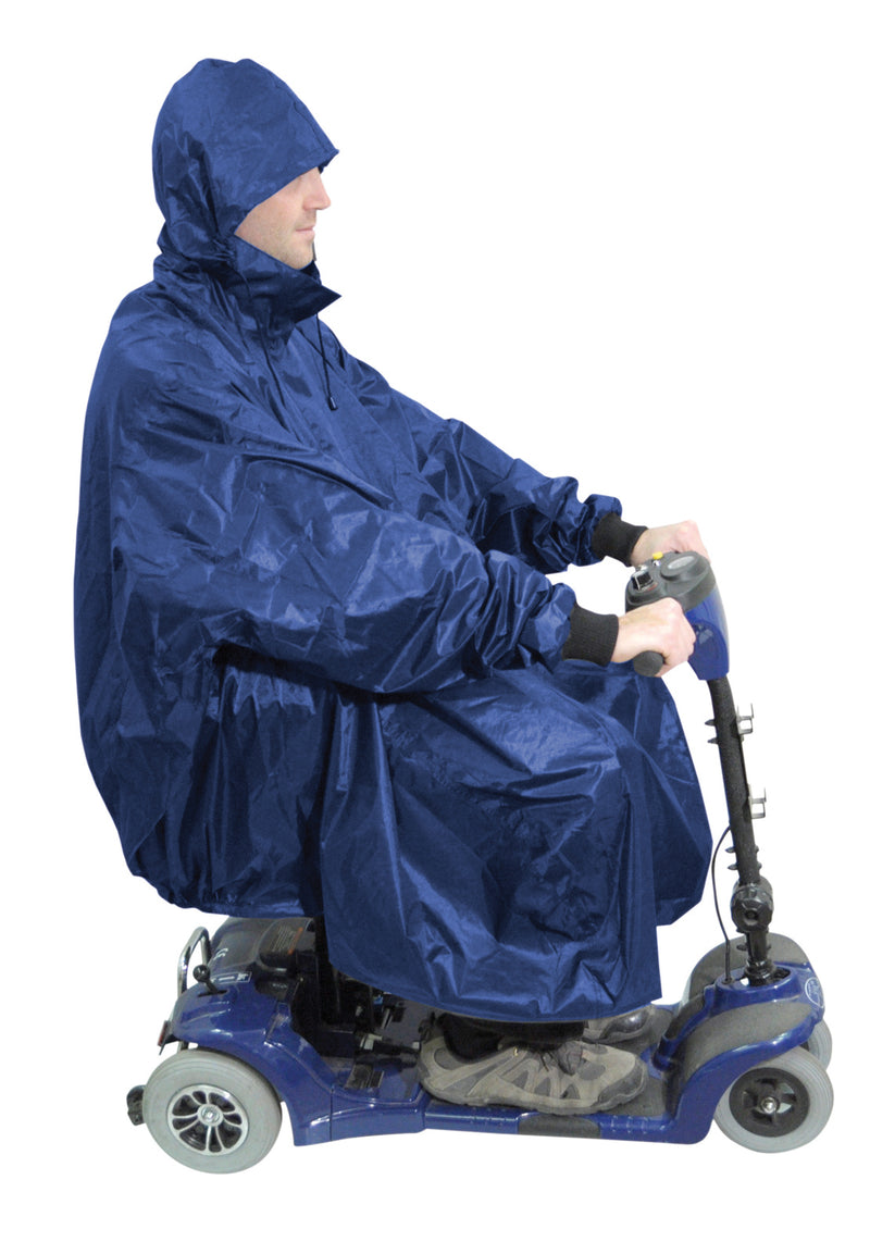 Deluxe Scooter Poncho Navy