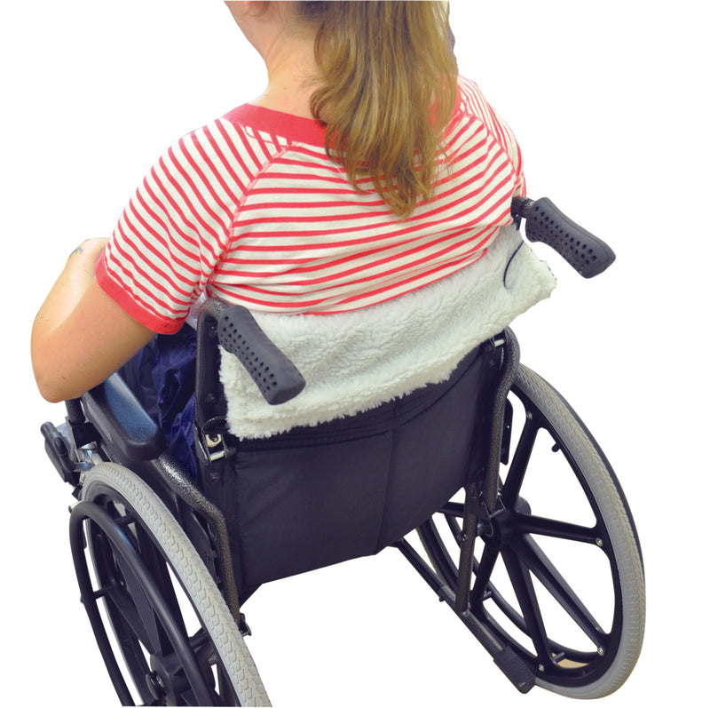Fleece Lined Wheelchair Cosy Blue