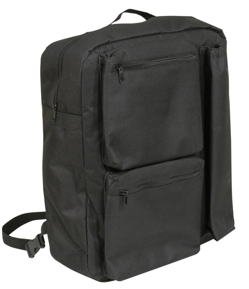 Deluxe Lined Scooter Crutch Bag Black