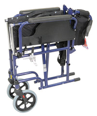 Deluxe Self Propelled Steel Wheelchair