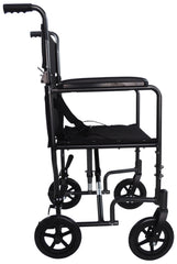 Aluminium Compact Transport Black Wheelchair