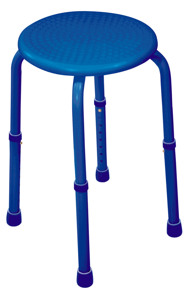 Multi-Purpose Adjustable Stool Blue