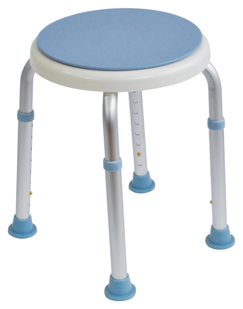 Bath Stool with Rotating Seat
