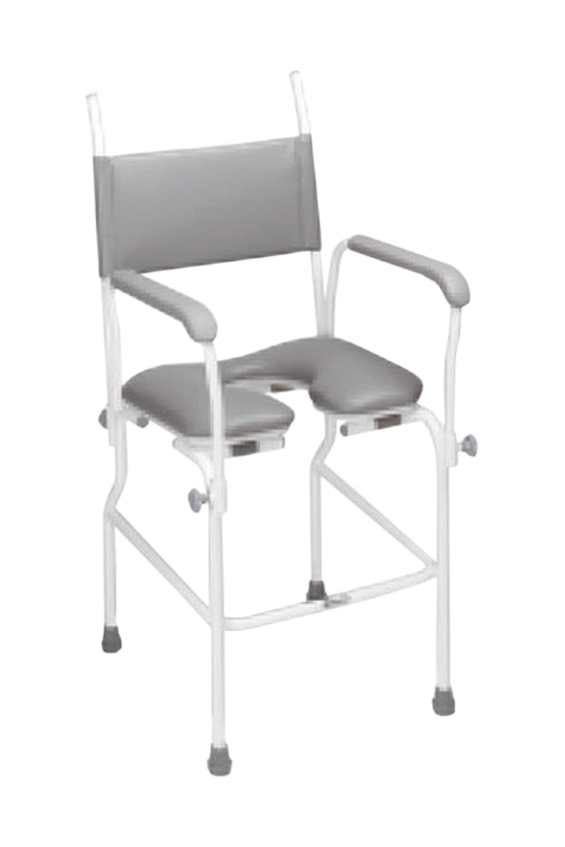 Aquamaster (A02) Static Shower Commode Chair 17'' Seat