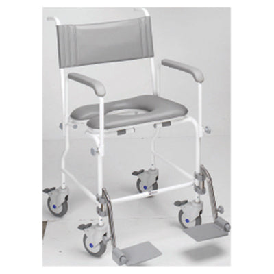 Aquamaster (A06) Attendant Propelled Shower Commode Chair 21''