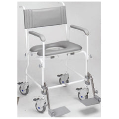 Aquamaster (A06) Attendant Propelled Shower Commode Chair 19''