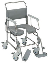 Transaqua (TA6) Attendant Propelled Shower Commode Chair 19'' Seat