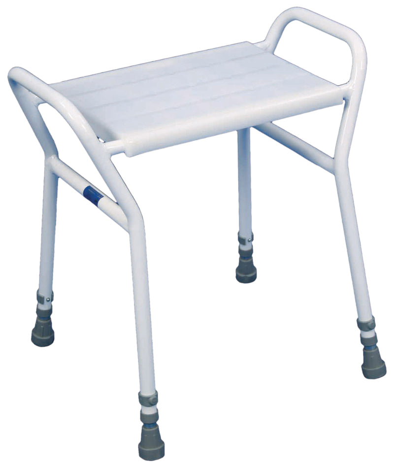 Strood Height Adjustable Shower Stool Large