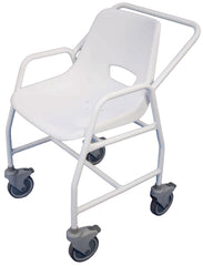 Hythe Mobile Shower Chair with Castors (Fixed Height)