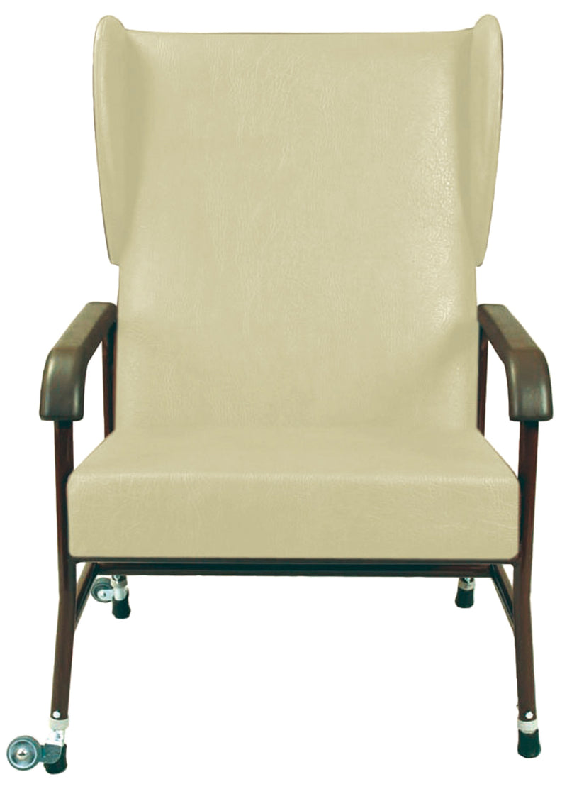 Winsham Heavy Duty High Back Chair - Cream