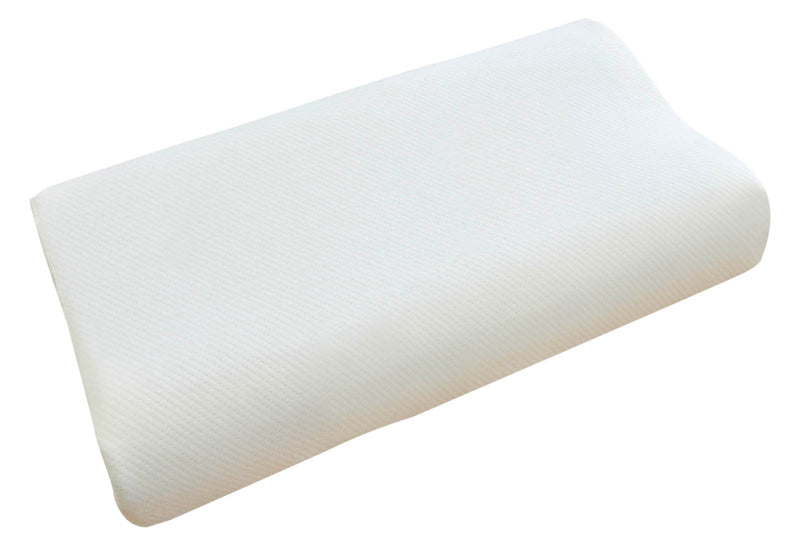 Cooling Gel Comfort Memory Foam Contour Pillow with Removable Soft Air Knit Fabric